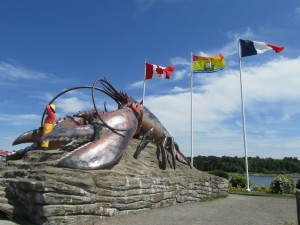 The Shediac lobster!